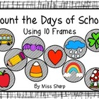 Count the Days of School Using 10 Frames