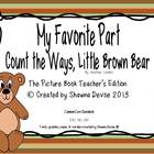 Count the Ways, Little Brown Bear - Favorite Part