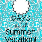 Countdown to Summer Vacation Poster {Freebie!}