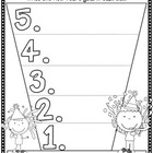 Countdown to a New Year: Goals Freebie Printable