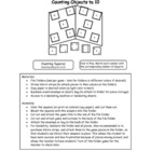 Counting 1 - 10 Folder Game