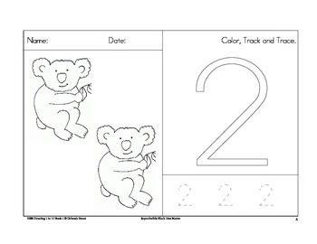 Counting 1 to 10 Book Koalas