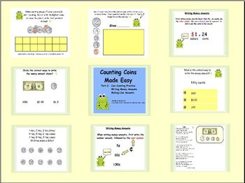 Counting Coins Made Easy! Mega Flipchart