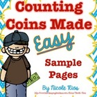 Counting Coins Made Easy! (Sample Pages)