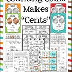 Counting Coins Make &quot;Cents&quot; Math Pack (Games, Centers, Wor