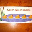 Counting Five Little Ducks Printable Singing Game. Autism 