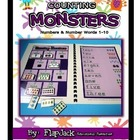 Counting Monsters MagnetMat Fun
