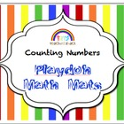 Counting Numbers Playdoh Math Mats