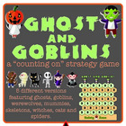 Counting On Subtraction Game: Ghosts & Goblins & Werewolve
