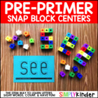 Counting Snap Cubes - Pre-Primer Sight Words