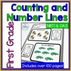 Counting and Number Lines {Zoo Animal}