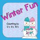 Counting by 2's, 5's, 10's (Winter Fun)