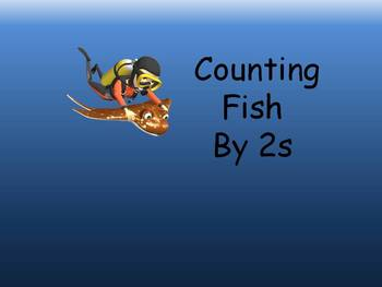 Counting by 2s Interactive PowerPoint Game without distracters