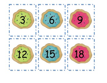 Counting by Three's with Cookies