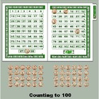 Counting to 100 - Counting Pennies - Preschool Kindergarte