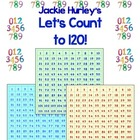 Counting to 120 with Math Centers - Reference Card