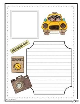 Country Project - Landmark Scrapbook