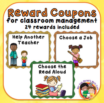 Coupons for Treasure Boxes or Other Reward Systems