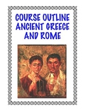 Course Outline Curriculum: Ancient Greece and Rome FREE!