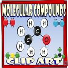 Molecular Compounds Clip Art