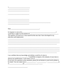 Cover Letter Template and Checklist