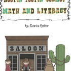 Cowboy Rootin Tootin Math and Literacy