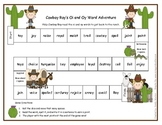 Cowboy Roy Oi and Oy Word Adventure Game Literacy Station