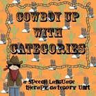 Cowboy Up with Categories a speech language therapy sortin
