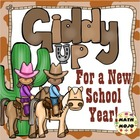 Cowboy and Cowgirl Back to School Mega Pack