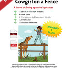 Cowgirl on a Fence - Bullying education audio drama, lesso