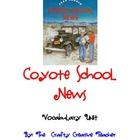 Coyote School News Vocabulary Unit
