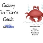 Crabby Ten Frame Cards
