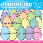 Cracked Eggs - Graphics for Easter Teaching Resources