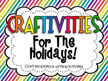 Craftivities For The Holidays