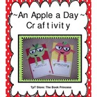 Craftivity: An Apple a Day