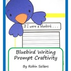 Craftivity: Bluebird Writing Prompt