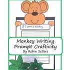 Craftivity: Monkey Writing Prompt