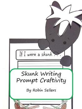 Craftivity: Skunk Writing Prompt