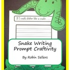 Craftivity: Snake Writing Prompt