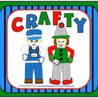 Crafty - Engineer, Elf, and Leprechaun Craftivity