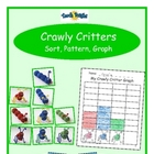 Crawly Critters Sort, Pattern, Graph