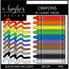 Crayons 1 {Graphics for Commercial Use}