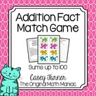 Crazy Cat Addition Fact Game