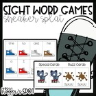 Sneaker Splat! {A Differentiated Sight Word Game}