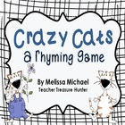 Crazy Cats Rhyming - Short &amp; Long Vowels