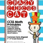 Crazy Circus Cat - Printable Packet