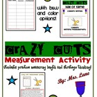 Crazy Cuts! A Measurement Activity! (Great Whole-Class Activity!)
