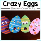 Crazy Eggs Easter Craftivity