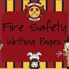 Crazy Fire Safety Writing Packet