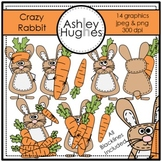 Crazy Rabbit {Graphics for Commercial Use}
